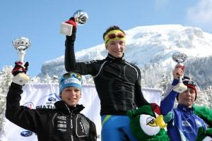 N°2 Emilien  1erFrance minimes biathlon