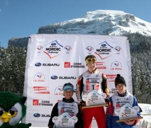 N°3 combiné podium